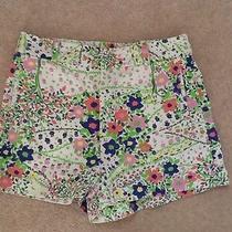 Topshop Ladies Shorts Uk8 Eur36 Trendy Floral Print Excellent Condition Photo