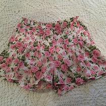 Topshop Liberty Print Shorts Photo