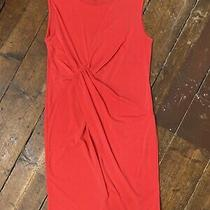 Topshop Maternity Dress 10 Sleeveless Red Bodycon Photo