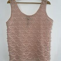 Topshop Maternity Top Blush Pink Size 14  Photo