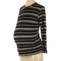 Topshop Maternity Women Black Pullover Sweater 4 Maternity Photo