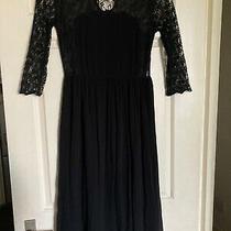 Topshop Midi Lace Dress Size 10 Photo