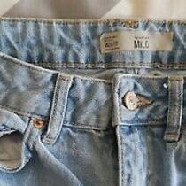Topshop Milo Jeans 26w 32l Light Blue Photo