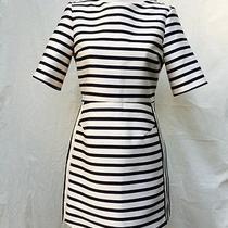 Topshop Modern Stripe Shift Dress Photo