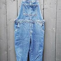 Topshop Moto Maternity Dungarees Overalls Dark Blue Denim Size Uk 10 Hardly Worn Photo
