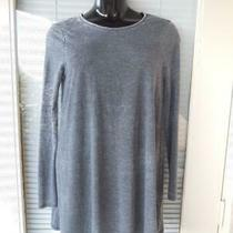 Topshop Open Back Tunic Dress Gray  Size 8 Photo