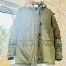 Topshop Parka Coat Jacket Puffer  Coat Fab Condition Size 8 Photo