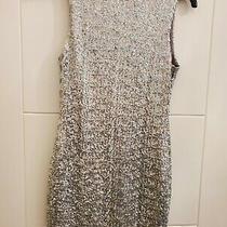 Topshop Petite Holographic Sequin Dress Size 4 Vgc Worn Once  Photo