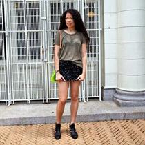 Topshop Sequin Mini Skirt Photo