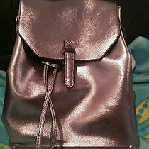 Topshop Silver Metallic Backpack  Photo