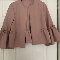 Topshop Size 10 Ladies Blazer - Pink Photo