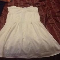Topshop Size 10 White Dress  Photo