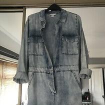 Topshop Size 8 Light Blue Jumpsuit  Photo