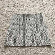 Topshop Skirt 6 Pattern Geometric S Black Cream A Photo