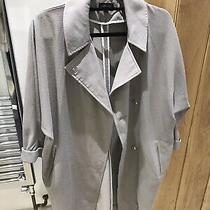 Topshop Smart Grey Coat Size 8 Photo