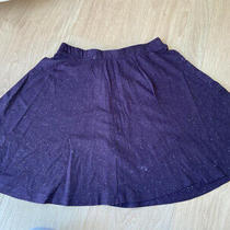 Topshop Speckled Purple Skater Skirt Worn Once Excellent Condition Size 8 Photo