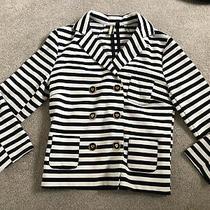 Topshop Stripe Blazer Size 8-10 Photo