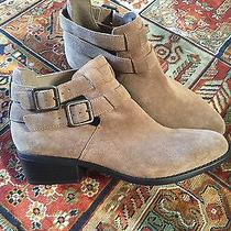 Topshop Suede Ankle Booties Photo