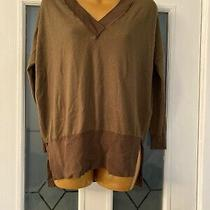 Topshop Thin Brown Jumper Size 6  Photo