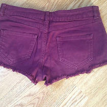 Topshop Urban Vintage Renewal Hipster Grunge Festival Denim Shorts/hotpants Uk 8 Photo