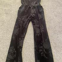 Topshop Velour Jumpsuit Black 12 Photo