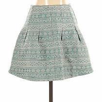 Topshop Women Blue Casual Skirt 4 Photo