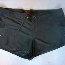 Torrid Black Tie Waist Short Shorts Sz 24 Hot Topic Punk Goth Photo