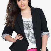 Torrid Black Trendy Blazer 3x Photo