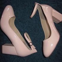 Torrid Blush Patent Babydoll Heels 3 1/2