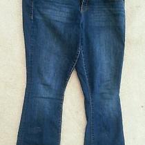 Torrid Boot Cut Slim Jeans Jewel Back Pockets Sz 16 Photo