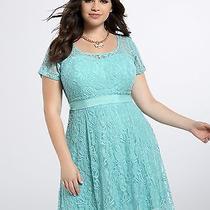 Torrid Ceramic Lace Illusion Dress Size 26 Photo