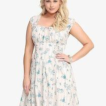 Torrid Disney Cinderella Ruffle Dress 24 3x Photo