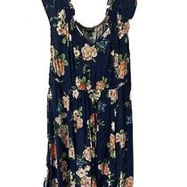 Torrid Dress Size 0 Navy Floral Photo