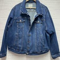Torrid Jean Jacket Medium Wash Blue Denim Stretch Trucker Bsize 5 5x Photo