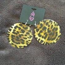 Torrid Leopard Earrings Photo