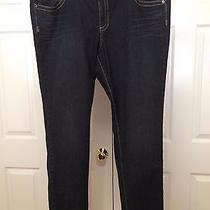 Torrid Nwt Sz 26t Skinny Slim Leg Dark Wash Jeans (44 W X 34 l) Photo