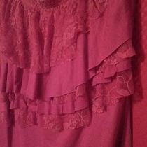 Torrid Pink Lace Tier Shirt Size 1 Photo