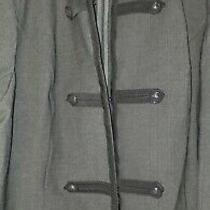 Torrid Plus Size 4 Grey Military Blazer Photo