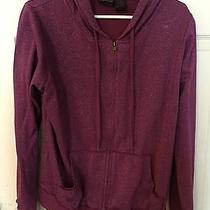 Torrid Purple Sparkly Zipper Hoodie Size 1 Photo