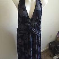 Torrid Size 18 Navy Blue & White Dress Photo