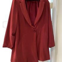 Torrid Size 4 Womens Plus Size  Red Blazer Jacket Photo