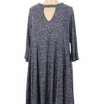 Torrid Women Blue Casual Dress 3x Plus Photo