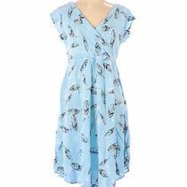 Torrid Women Blue Casual Dress L Plus Photo