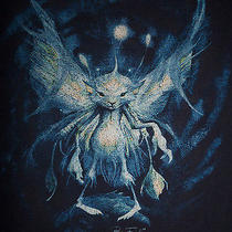 Torrid World of Froud Brian Shirt Fairy Goblin Blue Short Plus Sz 1x 2x 3x   Photo