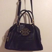 Tory Burch Amanda Crossbody Black Leather Photo