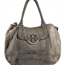 Tory Burch Amanda Lizard-Embossed Hobo Photo