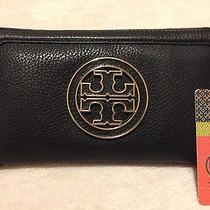 Tory Burch Amanda Zip Continental Wallet - Black Photo