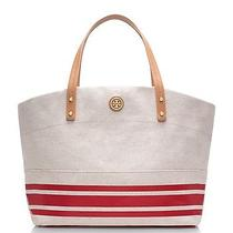 Tory Burch Beige Theresa Tote Photo