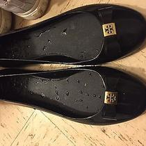 Tory Burch Black Ballet Flats (Water-Resistance) Photo
