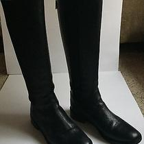 Tory Burch - Black Christy Riding Boot Size 7.5  Photo